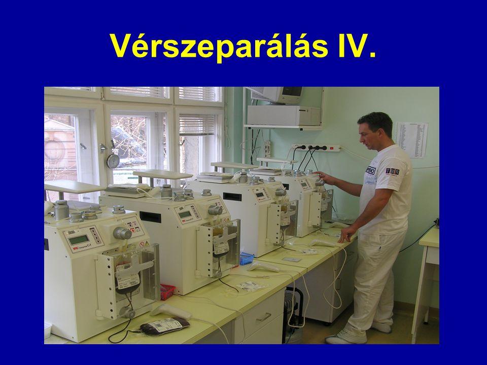 Vérszeparálás IV.