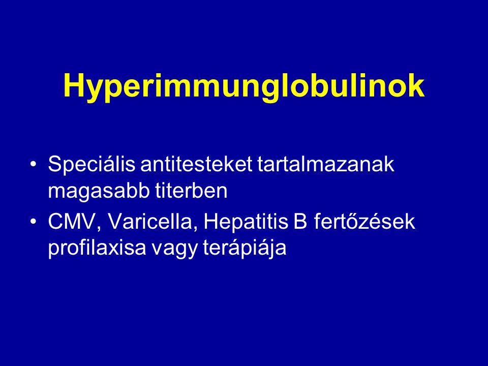 Hyperimmunglobulinok