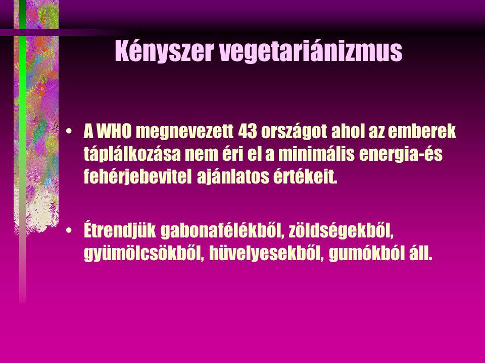 Kényszer vegetariánizmus