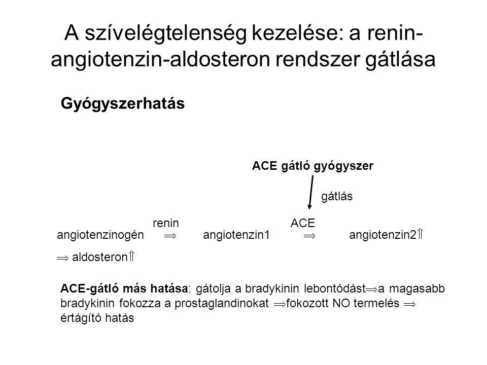 A szívelégtelenség kezelése: a renin-angiotenzin-aldosteron rendszer gátlása