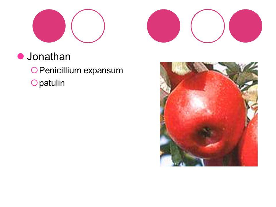 Jonathan Penicillium expansum patulin