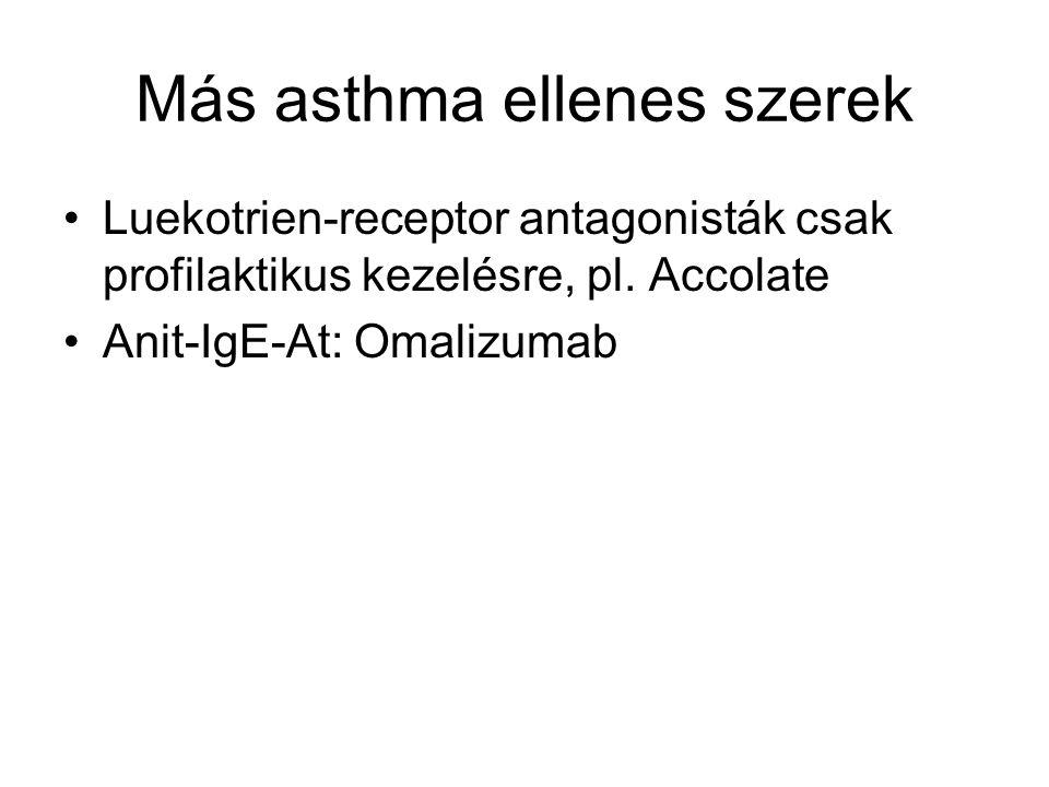 Más asthma ellenes szerek