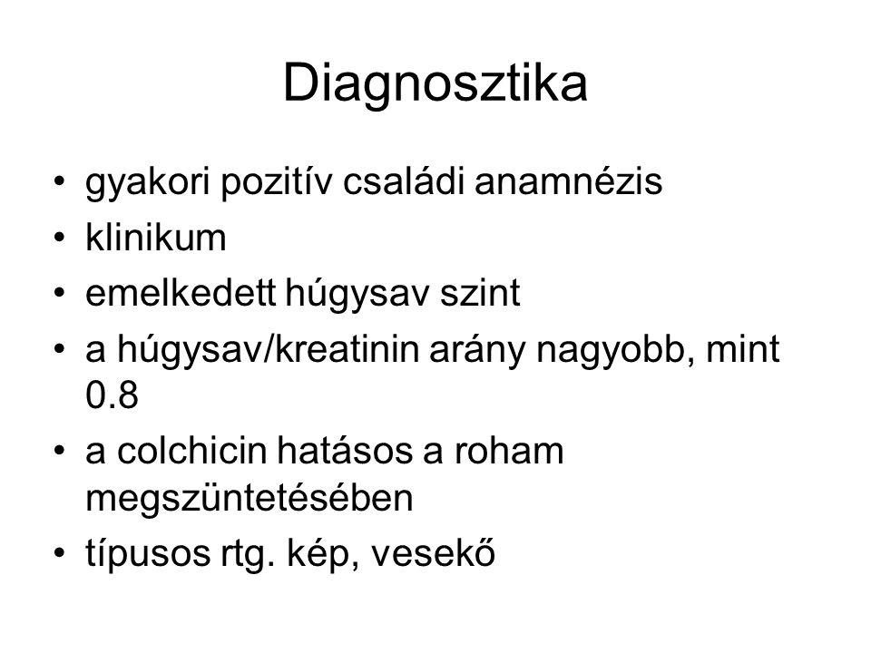 Diagnosztika gyakori pozitív családi anamnézis klinikum