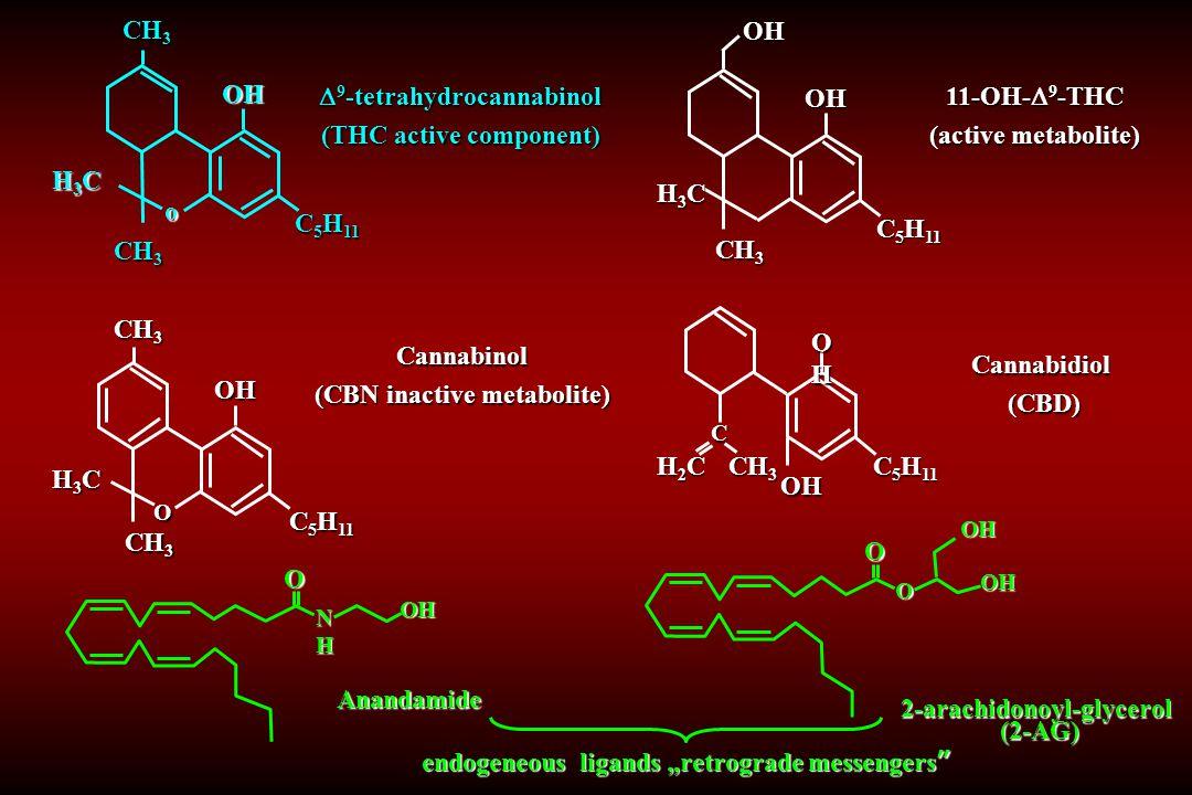 9-tetrahydrocannabinol (THC active component) 11-OH-9-THC