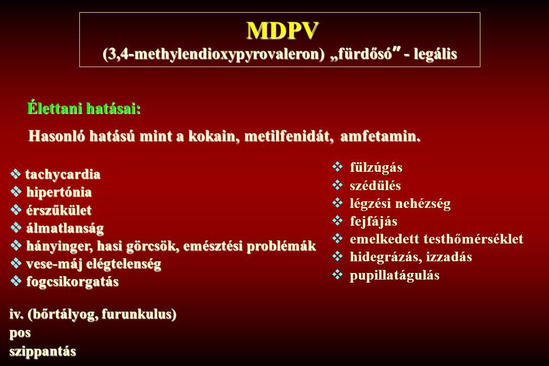 """(3,4-methylendioxypyrovaleron) """"fürdősó - legális"""
