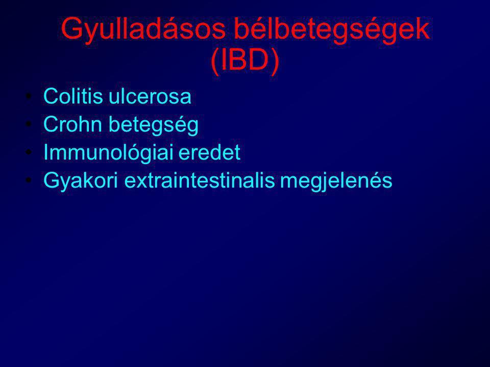 Gyulladásos bélbetegségek (IBD)