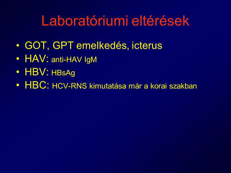 Laboratóriumi eltérések