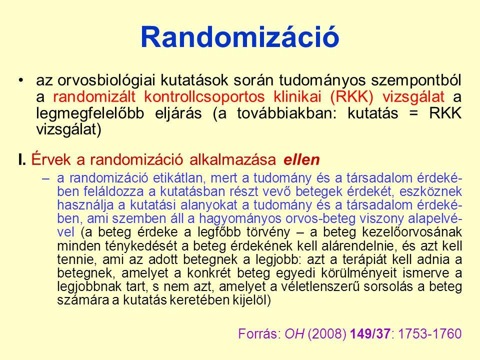 Randomizáció