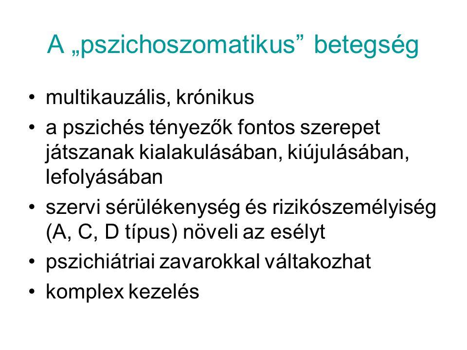 """A """"pszichoszomatikus betegség"""