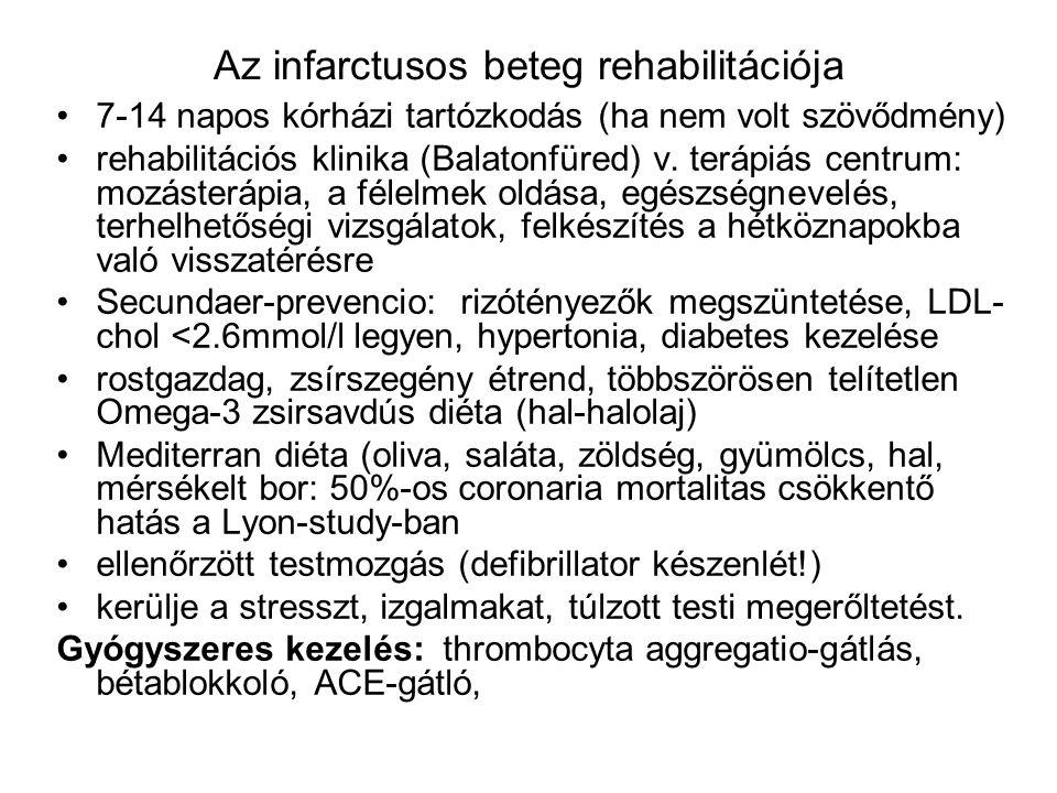 Az infarctusos beteg rehabilitációja