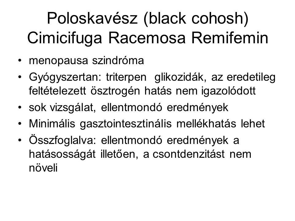 Poloskavész (black cohosh) Cimicifuga Racemosa Remifemin