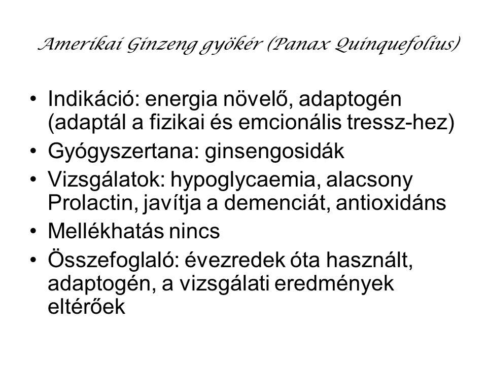 Amerikai Ginzeng gyökér (Panax Quinquefolius)