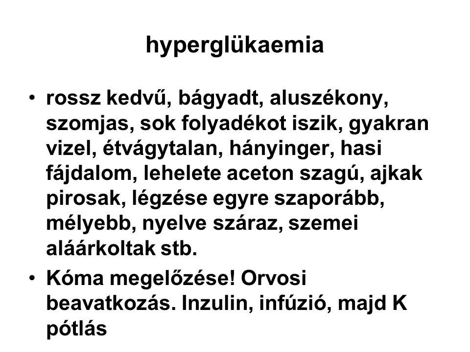 hyperglükaemia