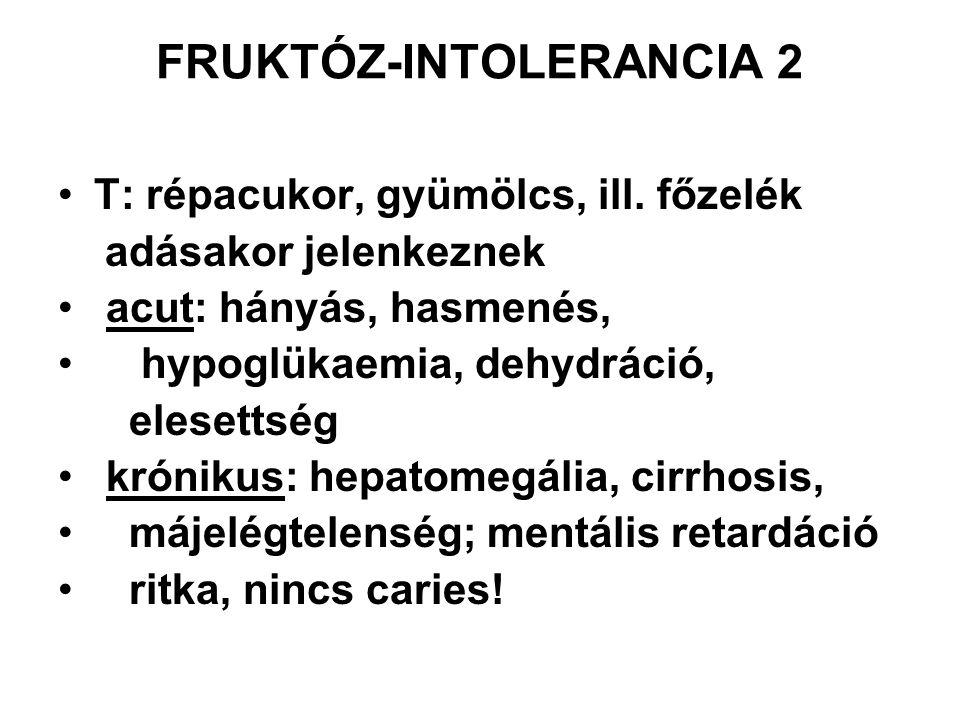 FRUKTÓZ-INTOLERANCIA 2