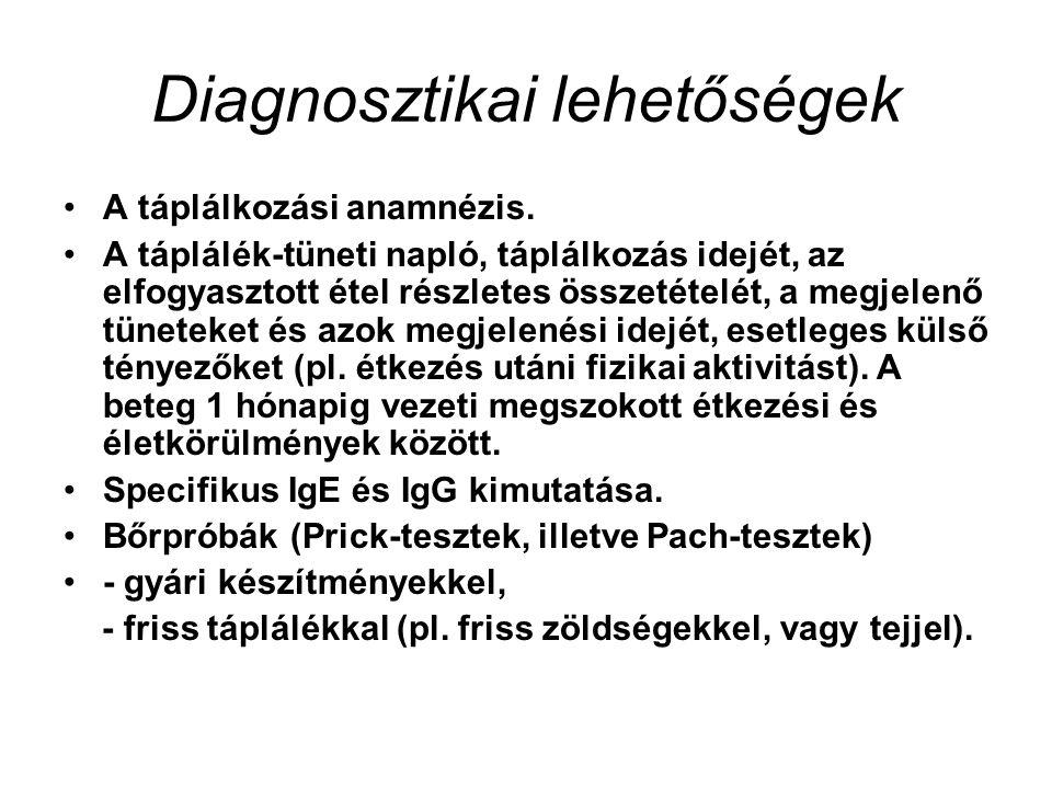 Diagnosztikai lehetőségek