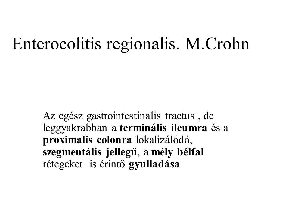 Enterocolitis regionalis. M.Crohn