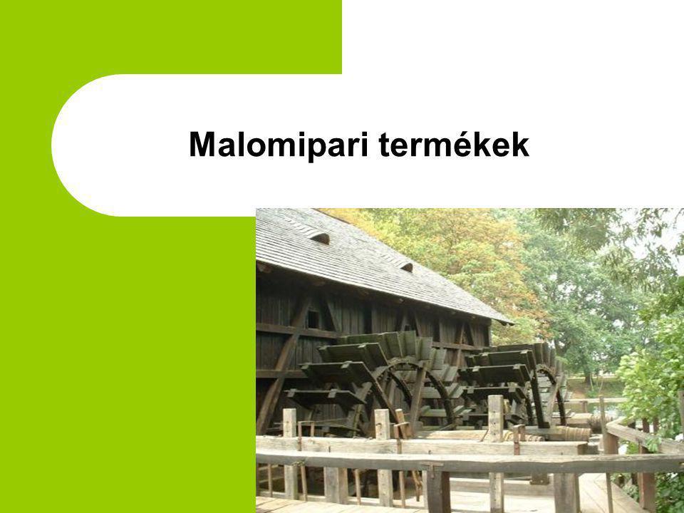 Malomipari termékek