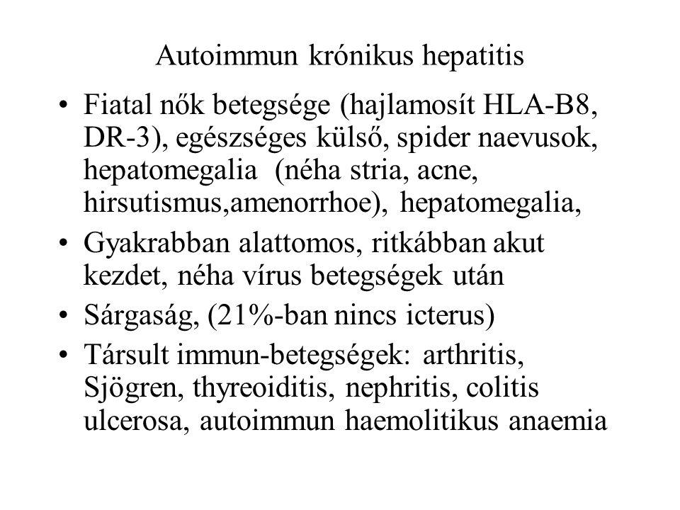 Autoimmun krónikus hepatitis