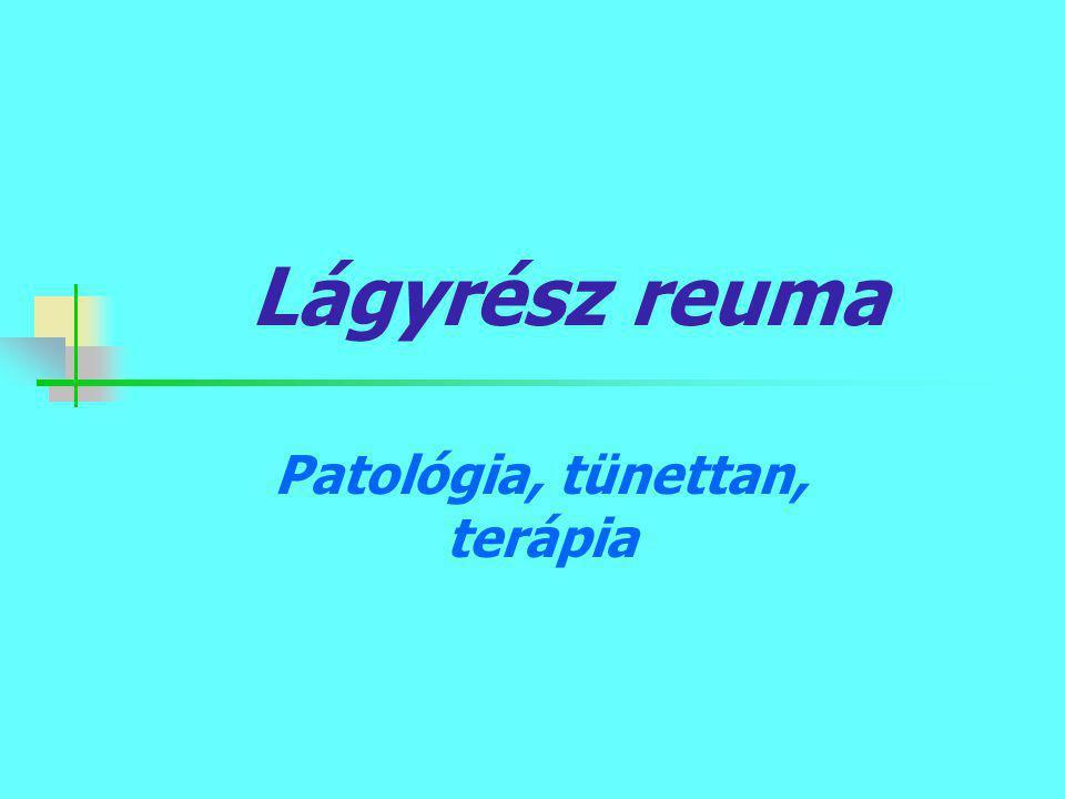 Patológia, tünettan, terápia