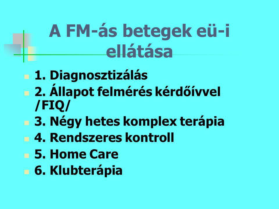 A FM-ás betegek eü-i ellátása