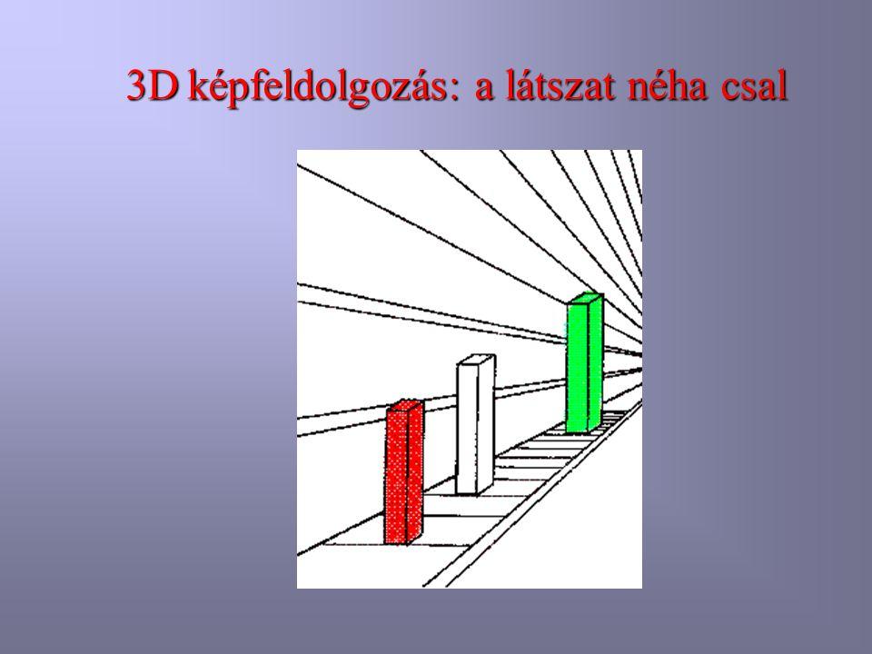 3D képfeldolgozás: a látszat néha csal