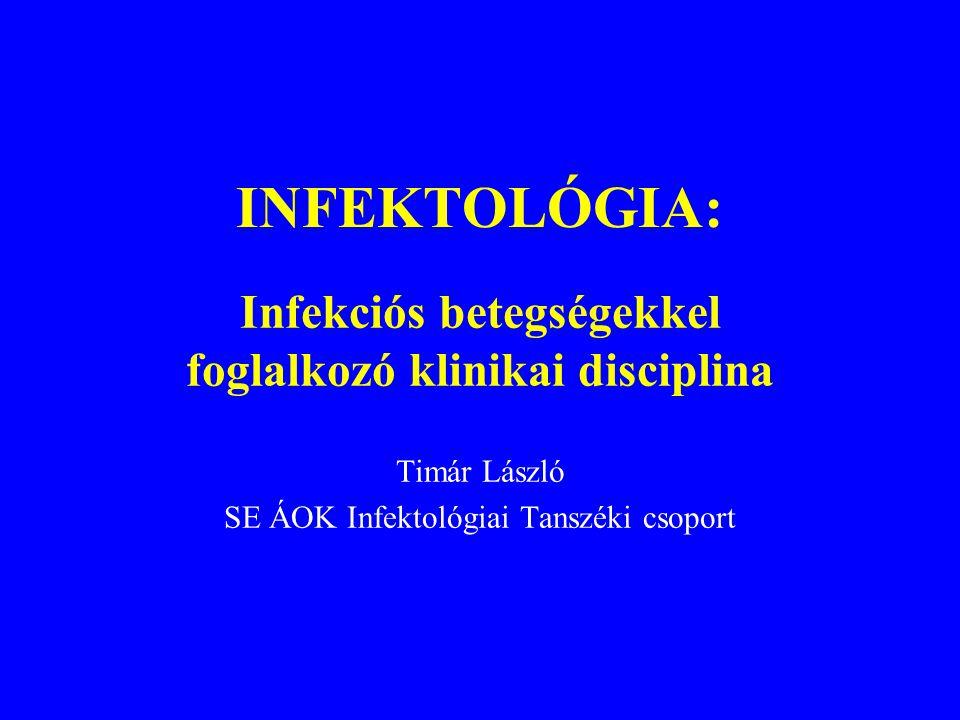 Infekciós betegségekkel foglalkozó klinikai disciplina