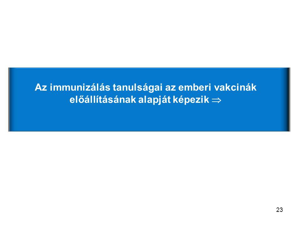 Van-e jelentősége az antigén dózisának az immunizálás során