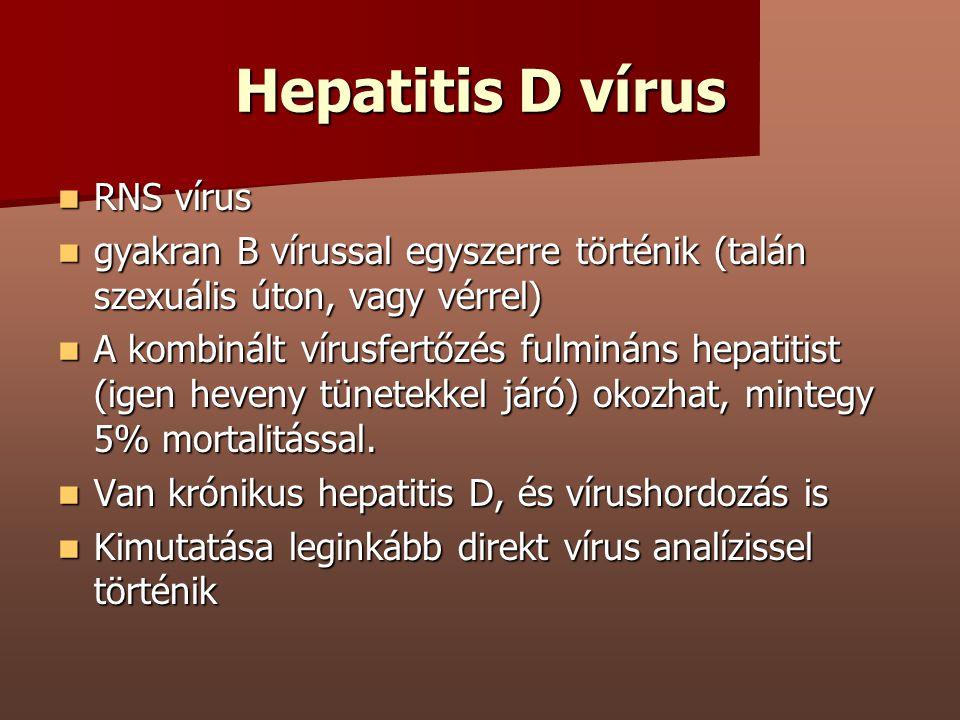 Hepatitis D vírus RNS vírus