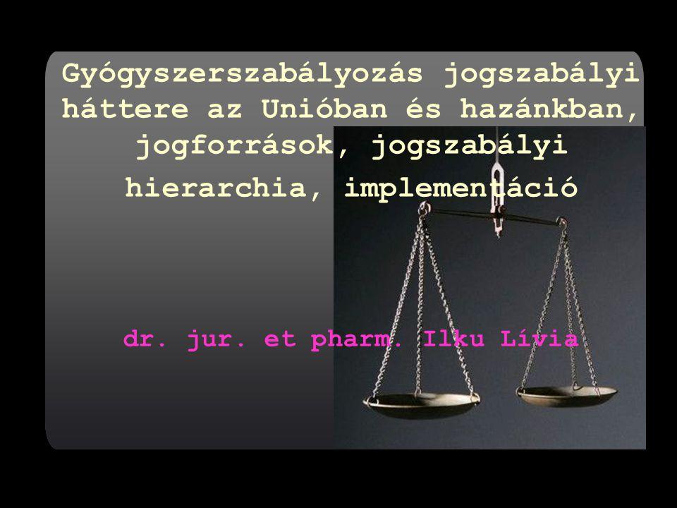 dr. jur. et pharm. Ilku Lívia