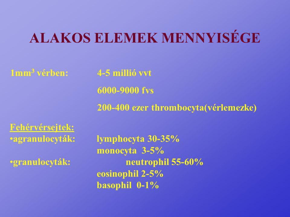 ALAKOS ELEMEK MENNYISÉGE