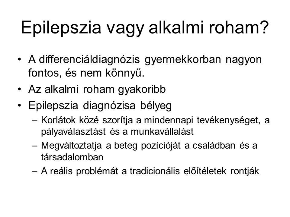 Epilepszia vagy alkalmi roham