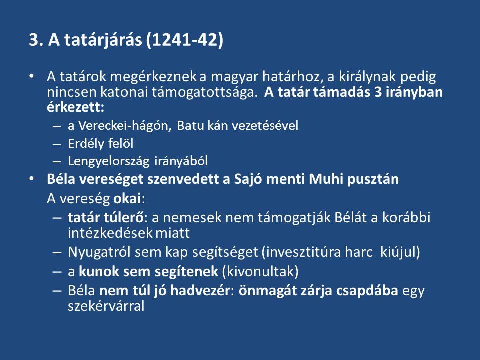 3. A tatárjárás (1241-42)