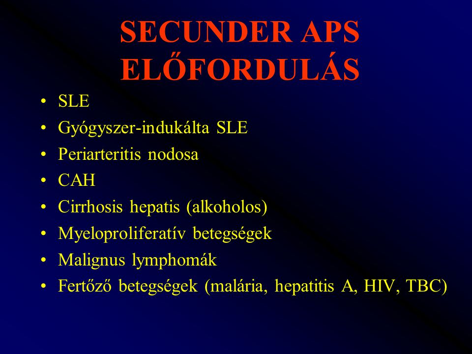 SECUNDER APS ELŐFORDULÁS