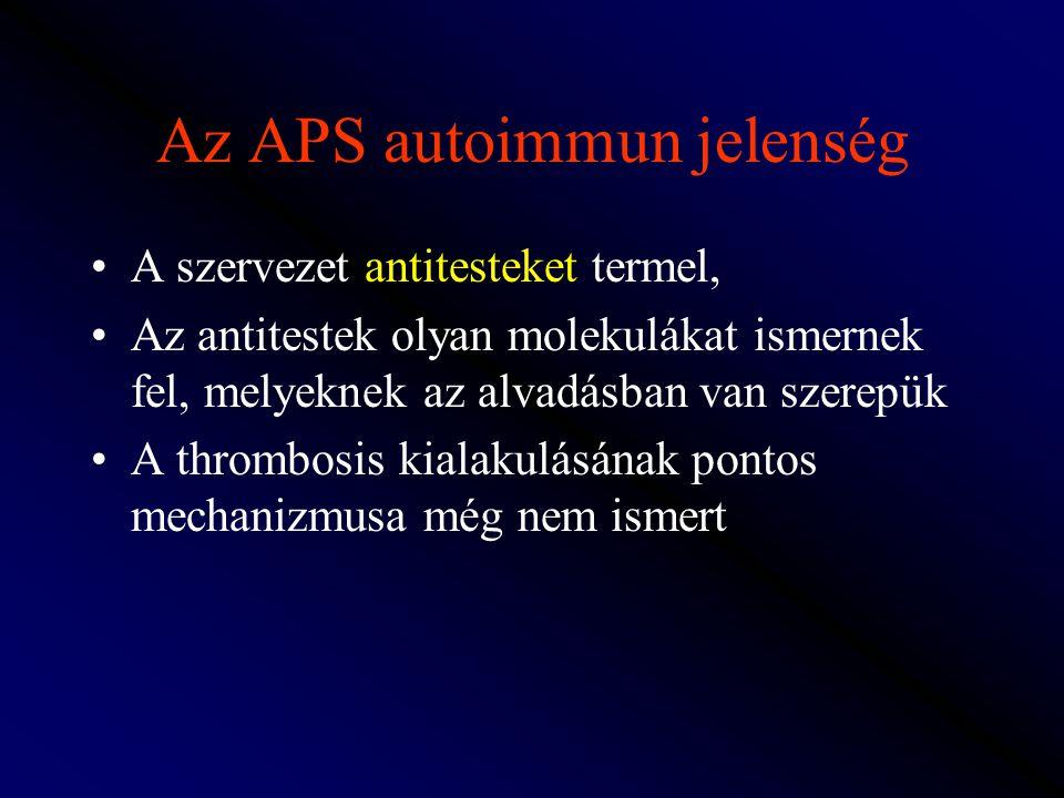Az APS autoimmun jelenség