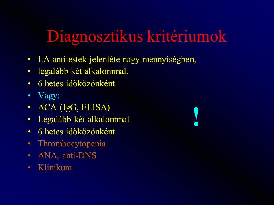Diagnosztikus kritériumok