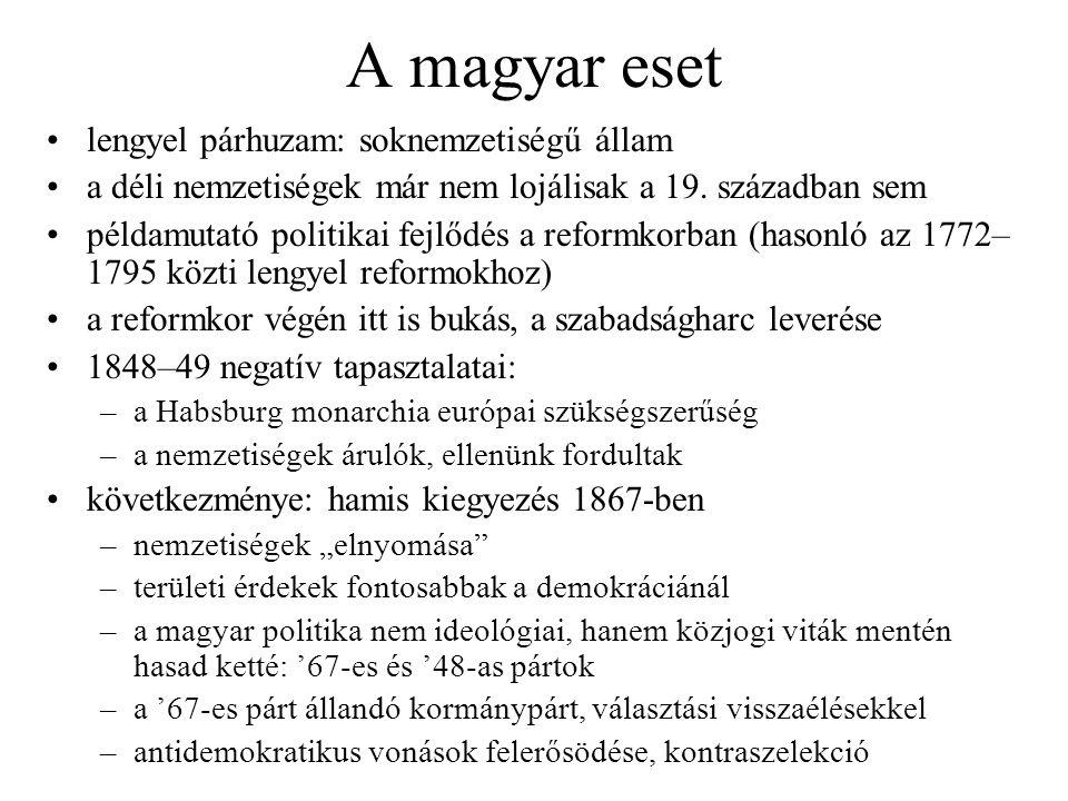 A magyar eset lengyel párhuzam: soknemzetiségű állam