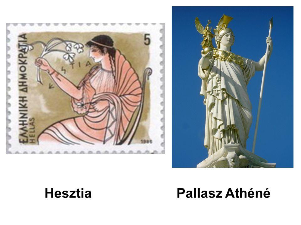 Hesztia Pallasz Athéné