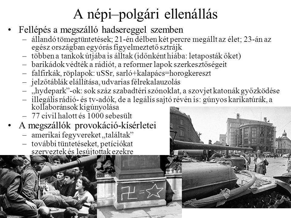 A népi–polgári ellenállás