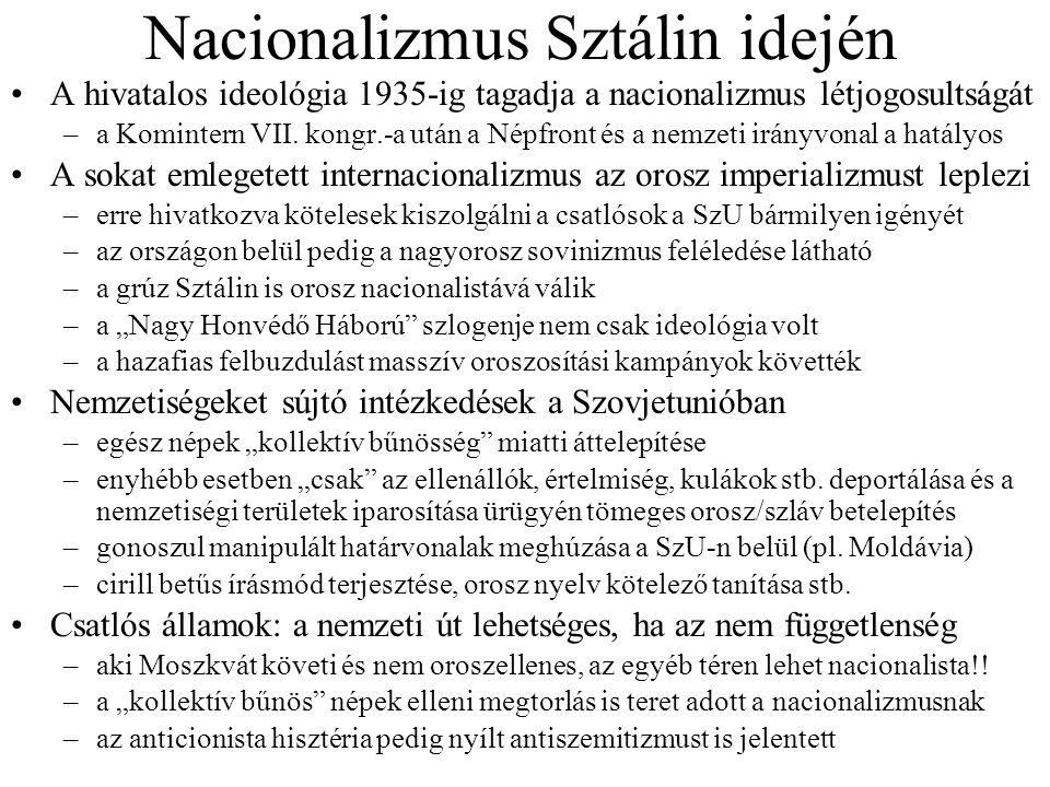 Nacionalizmus Sztálin idején