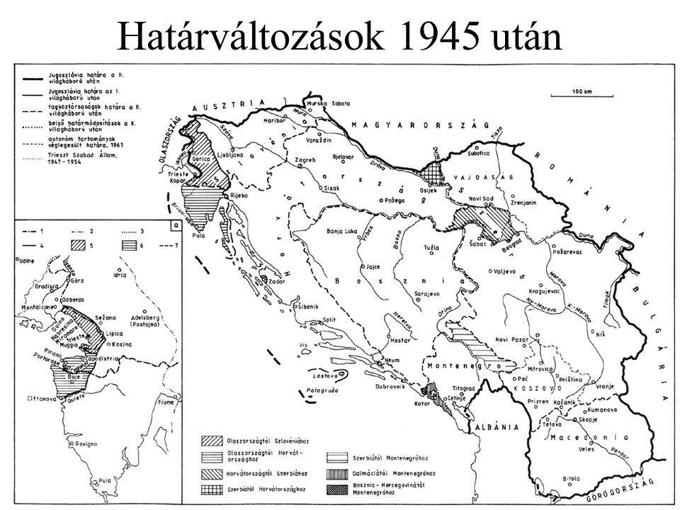 Határváltozások 1945 után