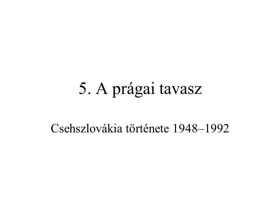 Csehszlovákia története 1948–1992
