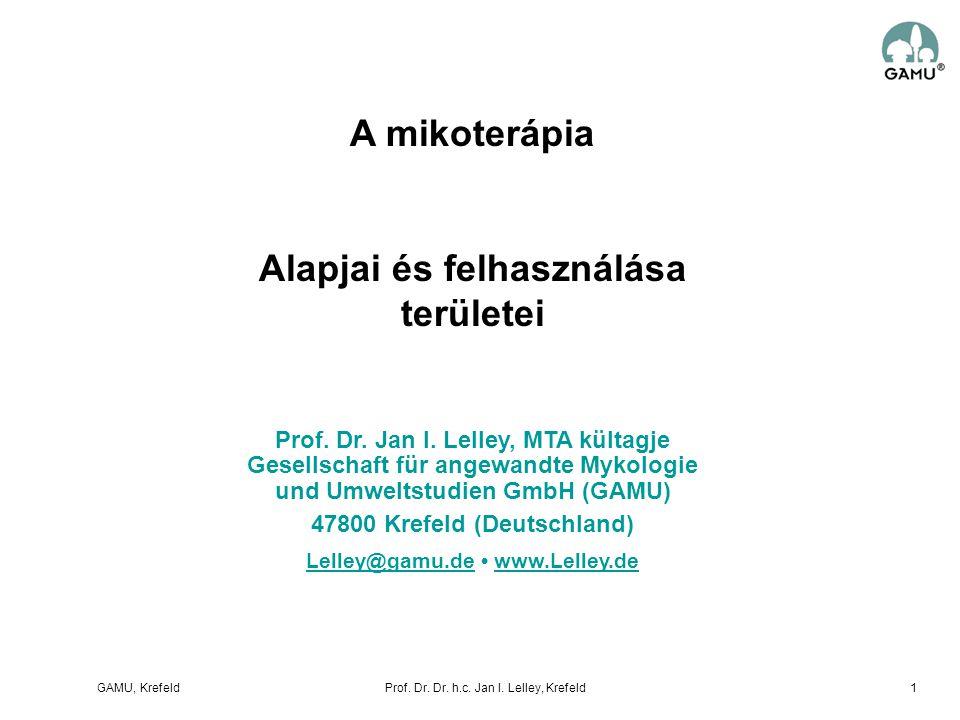 A mikoterápia Alapjai és felhasználása területei