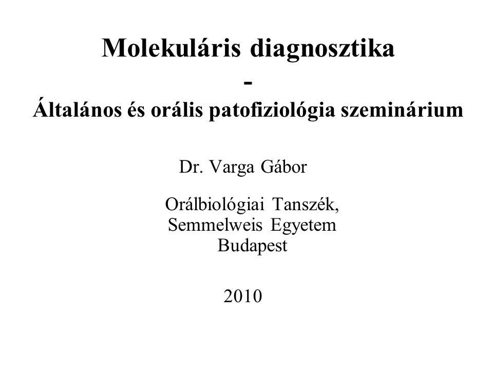 Orálbiológiai Tanszék, Semmelweis Egyetem Budapest