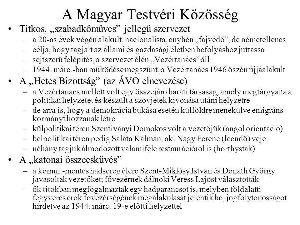 A Magyar Testvéri Közösség