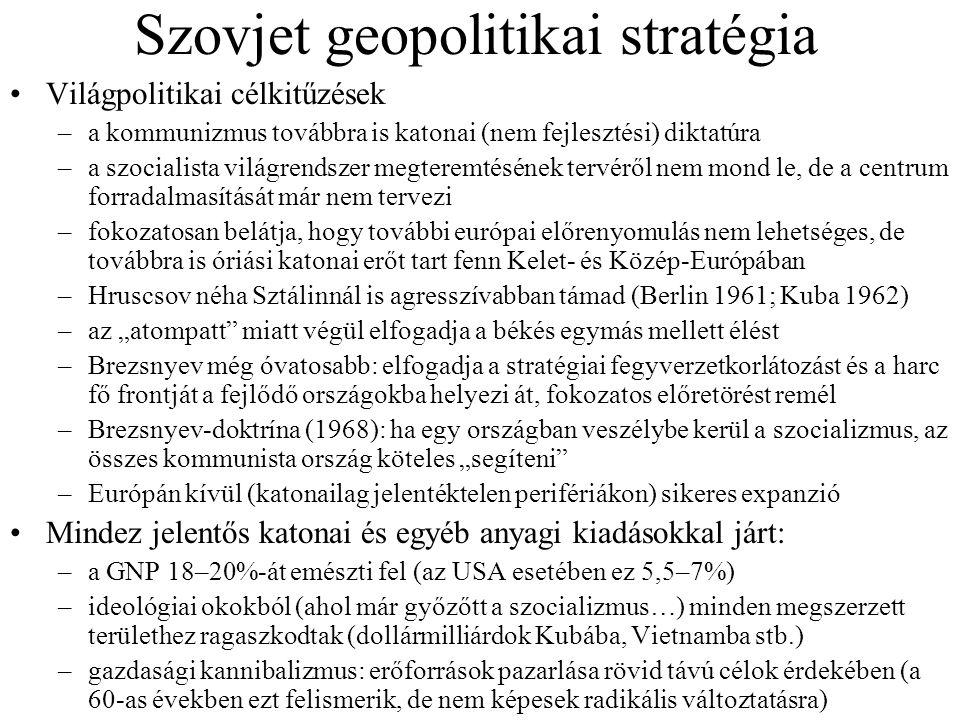 Szovjet geopolitikai stratégia