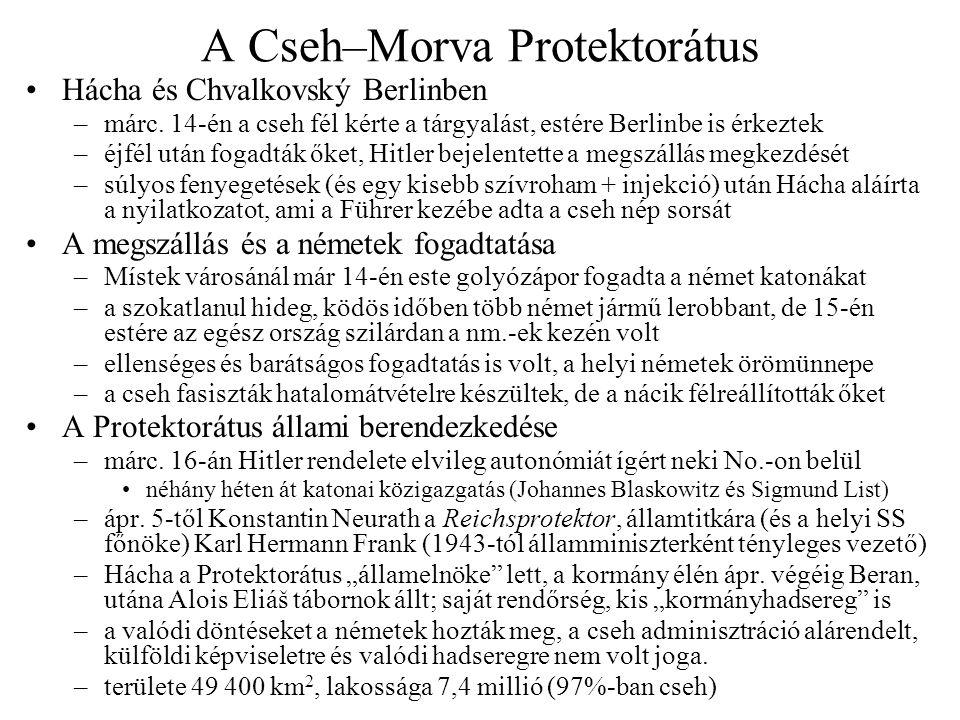 A Cseh–Morva Protektorátus