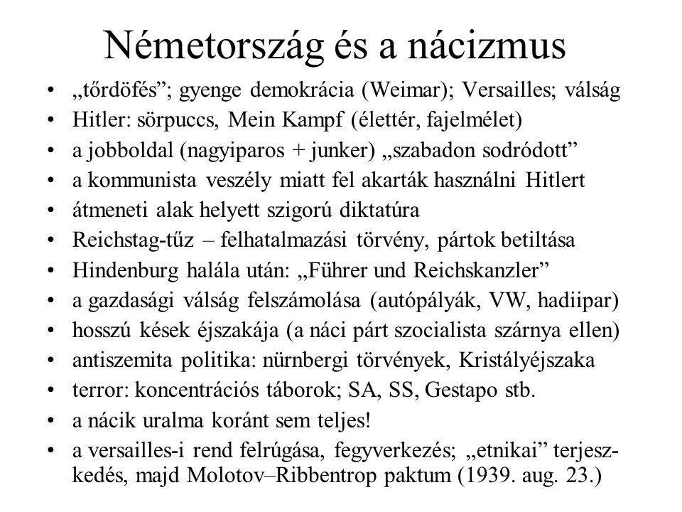 Németország és a nácizmus