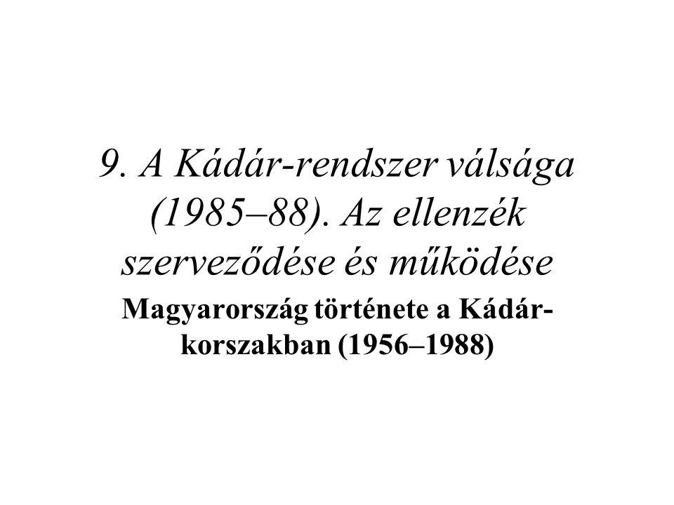 Magyarország története a Kádár-korszakban (1956–1988)