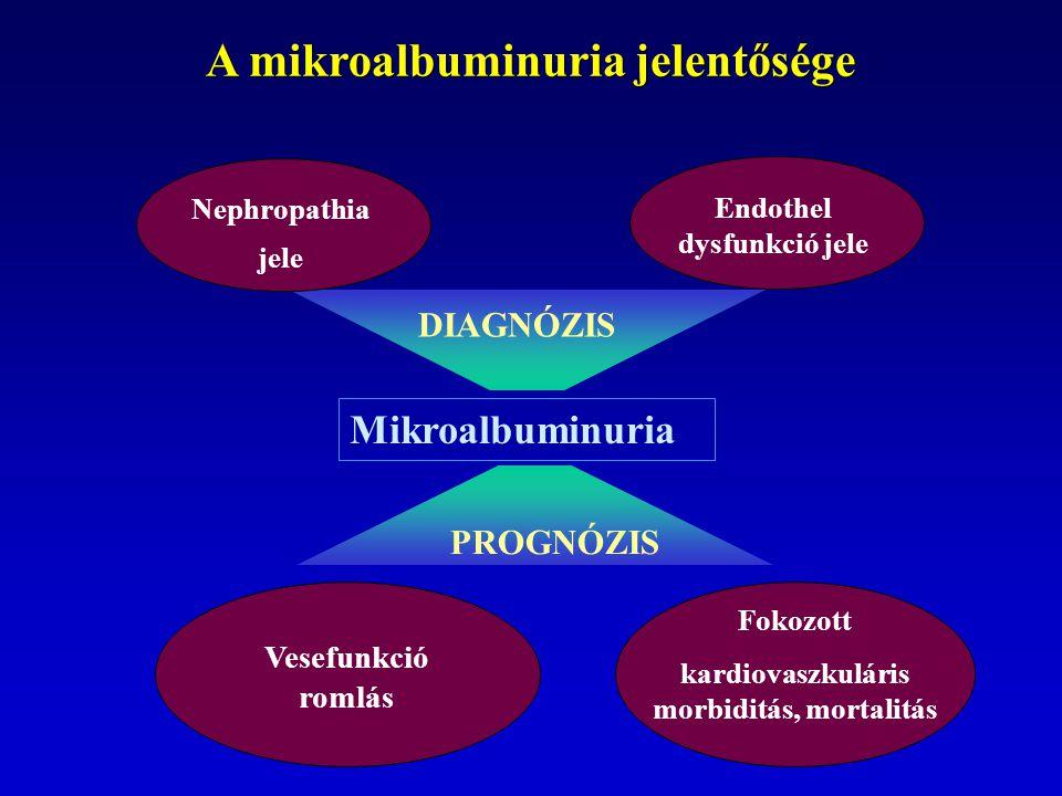 A mikroalbuminuria jelentősége