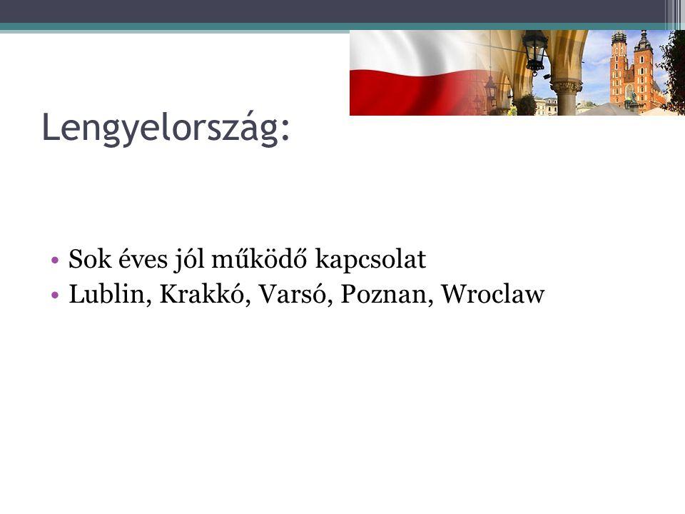 Lengyelország: Sok éves jól működő kapcsolat